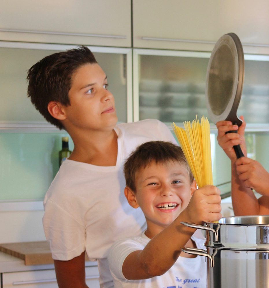 Kochen mit kindern ern hrungstraining wien petra zeilinger - Kann man reis in der mikrowelle kochen ...